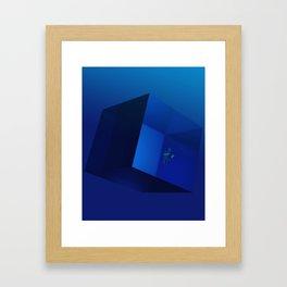 Too Deep Framed Art Print