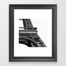 Eiffel BW No.2 Framed Art Print