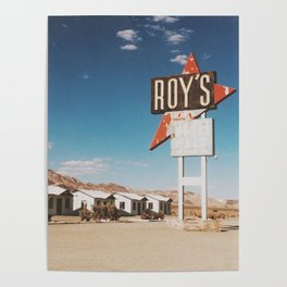 Roy's Retro Motel Poster
