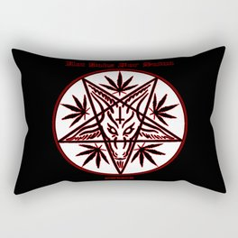 Hot Dabs For Satan Rectangular Pillow