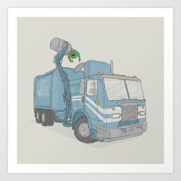Curbside Pickup Art Print