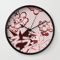scandal Wall Clocks featuring Pop Porn Scandal! by Department M