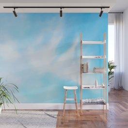 Blue sky Wall Mural