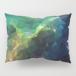 Galaxy low poly 3 Pillow Sham