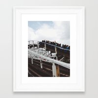 wooden Framed Art Prints featuring Wooden  by David M. Frazier