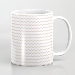 Rose pale geometrical zigzag pattern Coffee Mug