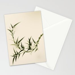 Oriental bamboo 006 Stationery Cards