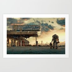 Fallout 4 - The Wanderer Art Print