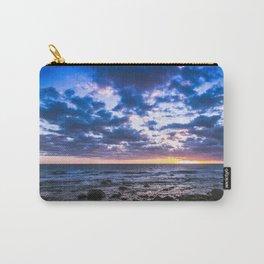 Sunset rock landscape Carry-All Pouch