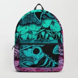 Unicorn Shark Blue Backpack