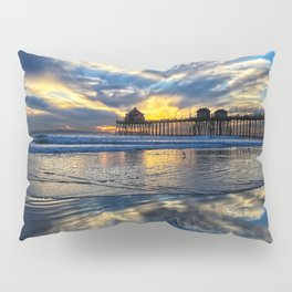 Huntington Beach Sunset   12/15/13 Pillow Sham