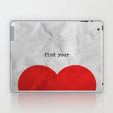 find your half (1 of 2 parts)  Laptop & iPad Skin