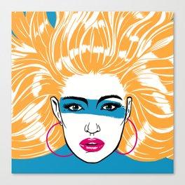 Summer Blonde '82 Canvas Print