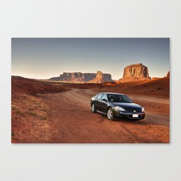 Monument Impala Canvas Print
