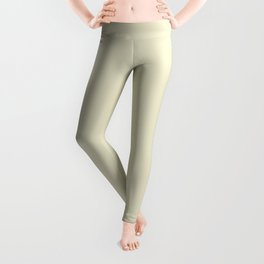 Dirty White - solid color Leggings