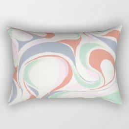 Abstract print design Rectangular Pillow