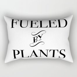 FUELED BY PLANTS (2) Rectangular Pillow