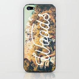Let's Escape iPhone Skin