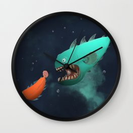 RON & NASH Wall Clock