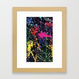 Splatt Framed Art Print