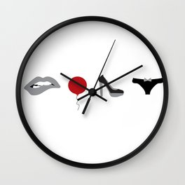 Rocky Horror Picture Show Icons Wall Clock