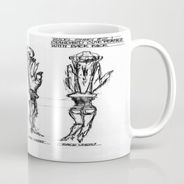 HEW With Backpack Coffee Mug