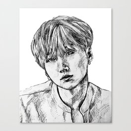 BTS SUGA Canvas Print
