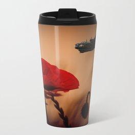 Avro Lancaster Memorial Metal Travel Mug
