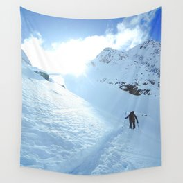 Mountain photography / Mountain & Snow Poster Wall Tapestry