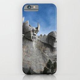 Rushmore SuperRobot iPhone Case