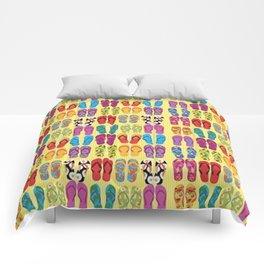 Flip Flop Pop Comforters