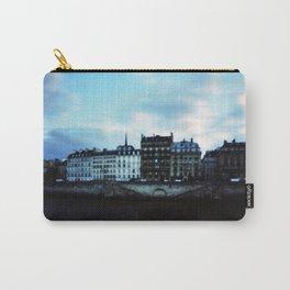 Paris at Dusk: Ile de la Cite Carry-All Pouch