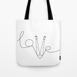 Man & LoveMe Tote Bag