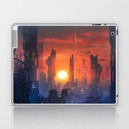Barcelona Smoke & Neons: The End Laptop & iPad Skin
