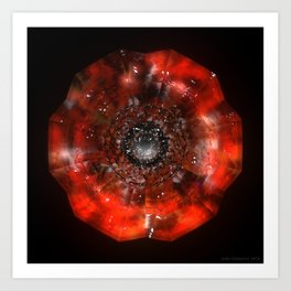 The Eye of Cyma: Fire and Ice - Frame 45 Art Print