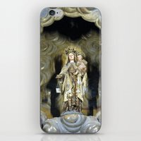 spain iPhone & iPod Skins featuring Spain by Medea