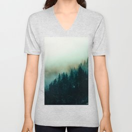 Foggy Magic Unisex V-Neck