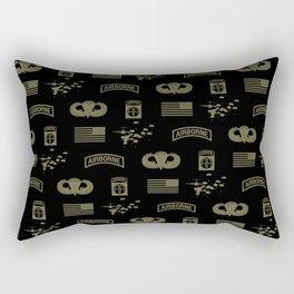 82nd Airborne Division Pattern (Green) Rectangular Pillow