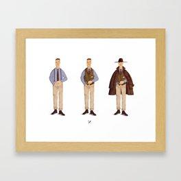 mr. Bootlegger Framed Art Print