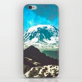 Mt Adams from Mt Rainier Washington State - Nature Photography iPhone Skin