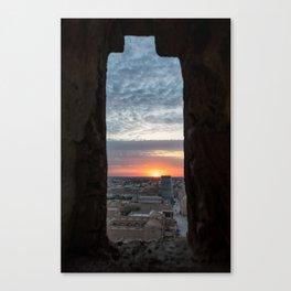 Khiva Sunset Canvas Print