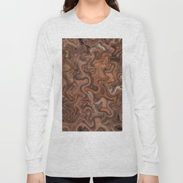 Abstract of Life Painting Long Sleeve T-shirt