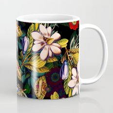 Japanese Floral Pattern Mug
