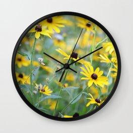 Daisies and More Wall Clock