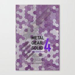 Metal Gear Solid 4: Guns of the Patriots Canvas Print