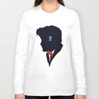 dr who Long Sleeve T-shirts featuring Dr Who - Geronimo by Duke Dastardly