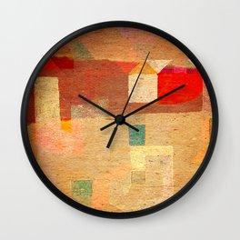 Casitas en España Wall Clock