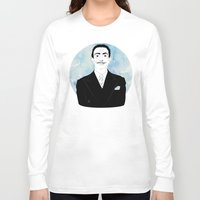 dali Long Sleeve T-shirts featuring DALI by Adam Churcher