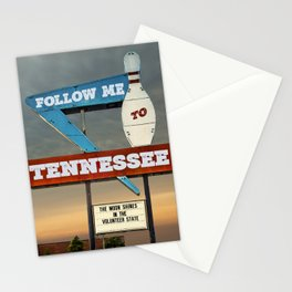 Follow Me To Tennessee Stationery Cards