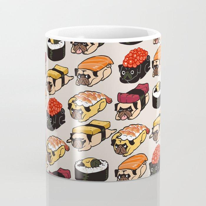 Sushi Pug Coffee Mug